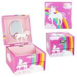 Unicorn Rainbow Musical Jewelry Box - Pink - the unicorn store