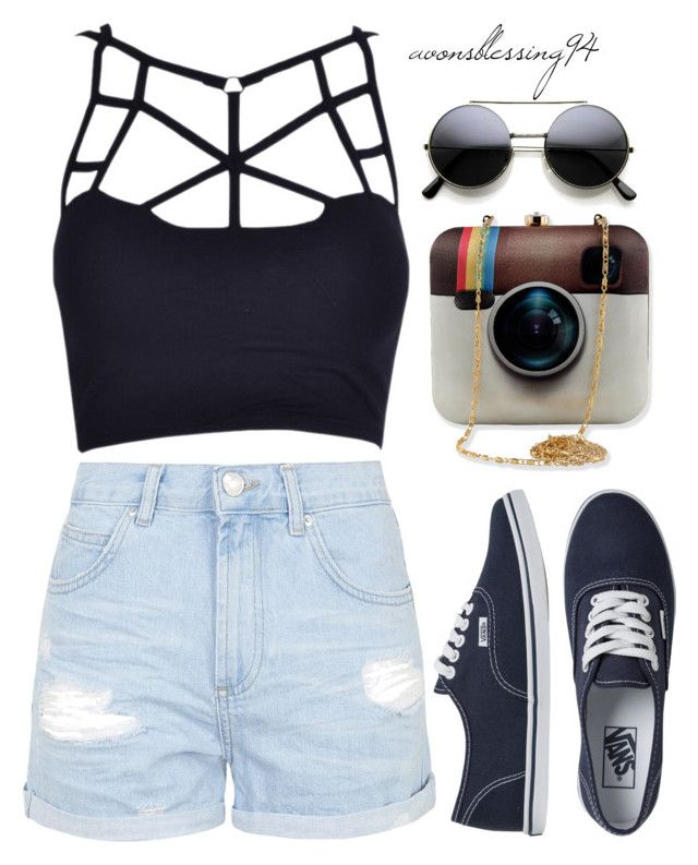 """Weird"" by avonsblessing94 ❤ liked on Polyvore featuring Topshop, Vans, women's clothing, women, female, woman, misses and juniors"