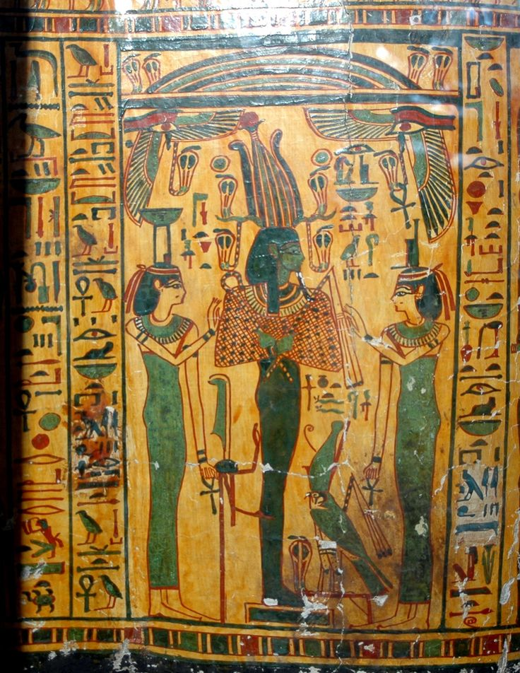 Nephthys, Osiris, Isis, Horus