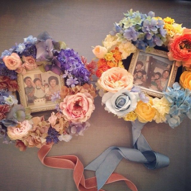 両親へのギフト Flower wreath