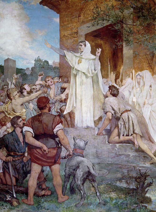 Tableau poétique des fêtes chrétiennes - Vicomte Walsh - 1843 - (Images et Musique chrétienne) 29600c611fe5703fd23e2f515ef95c63--saints