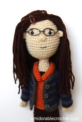 A[mi]dorable Crochet: Amy Farrah Fowler Pattern!
