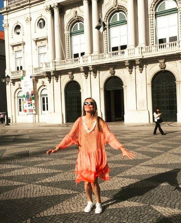 Hanna Lis w Lizbonie