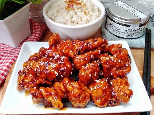Resep Korean Spicy Chicken Oleh Susan Mellyani Resep Makanan Resep Ikan Resep