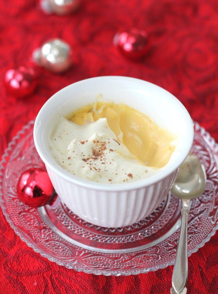 The Kiwi Cook | Eggnog Pots de Crème | http://thekiwicook.com