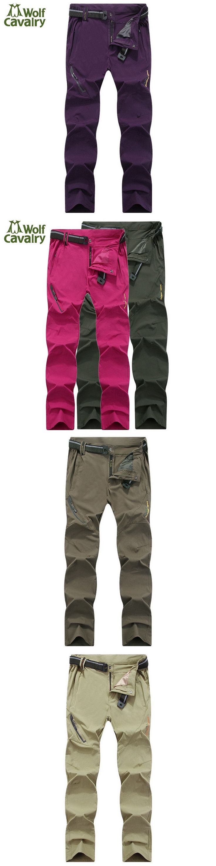 CavalryWalf High Stretch Quick Dry Hiking Pants Women Summer Travel Camping Sport Trousers Trekking Cycling Outdoor Pants,AW006