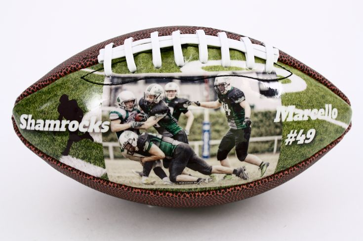Personalized football, perfect gift for senior night, Christmas, birthday and graduation