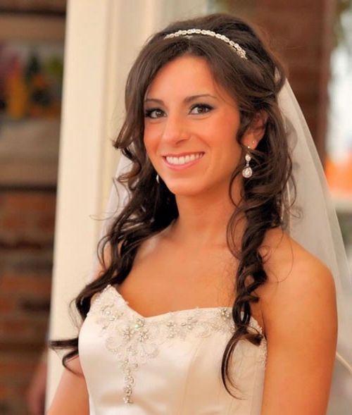 37 Half Up Half Down Wedding Hairstyles Anyone Would Love