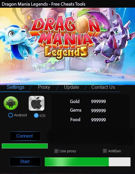 Need a Dragon Mania Hack Tool? Right place. Here download the newest version of the Dragon Mania Cheat For Android And IOS.