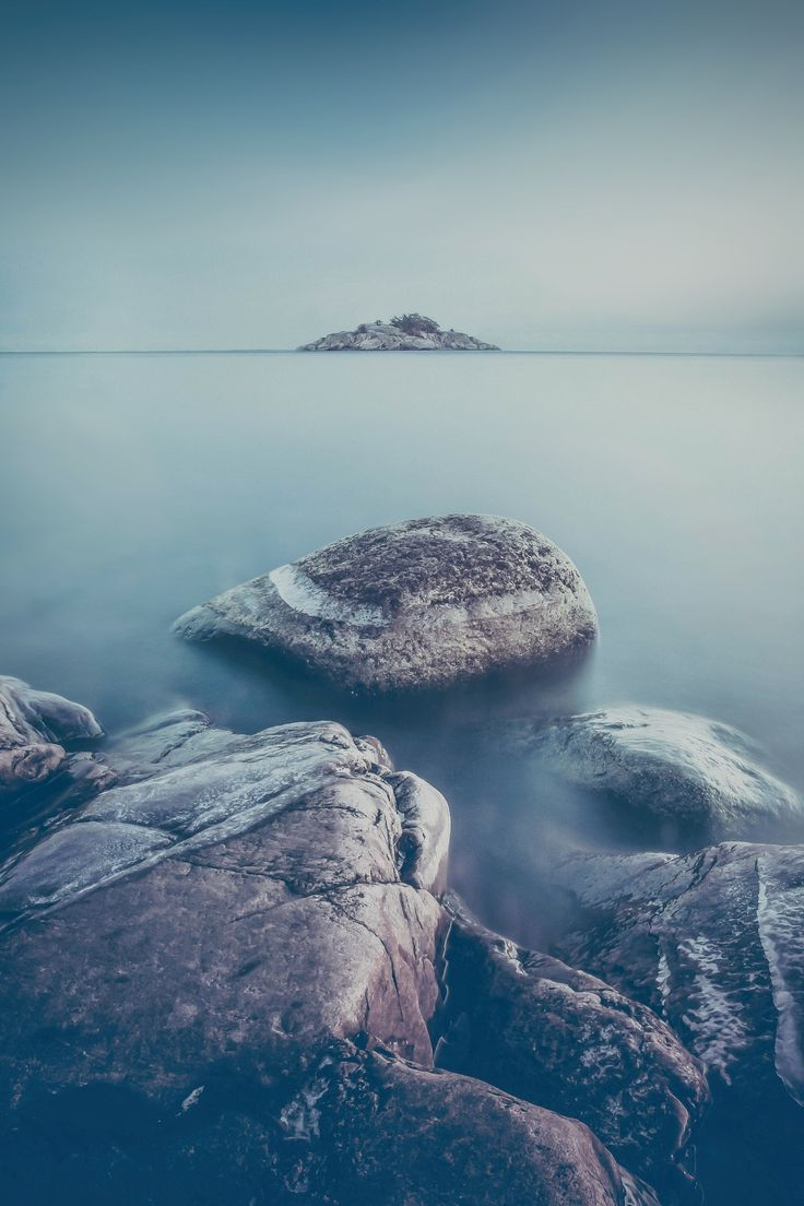 Day after tomorrow - Long exposure on Hanko beach.