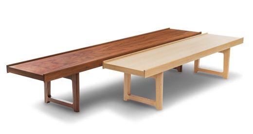 Krobo bench, redesign of Torbjørn Afdal 1959. Design: Fjordfiesta.