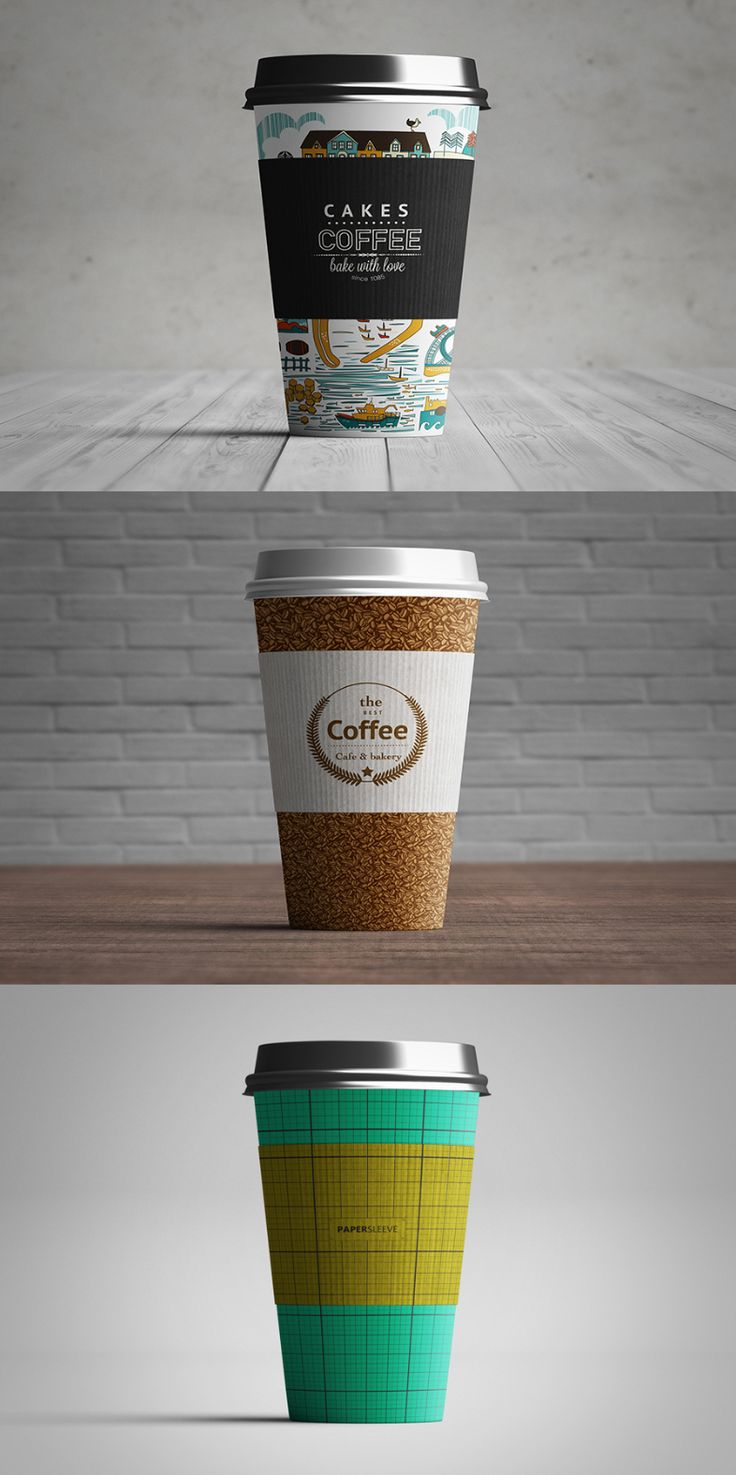 Paper Coffee Cup Free PSD Mockup