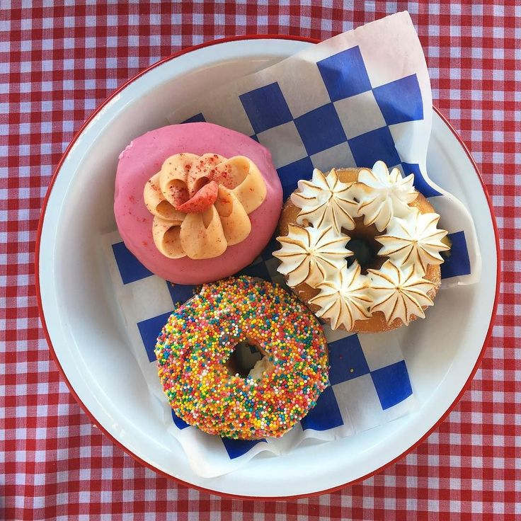 Today's flavour trio of the day is sweet Strawberry Cheesecake tangy Lemon Meringue and our take on a Kiwi Classic - Fairy Bread! Come in today before they're all sold out!