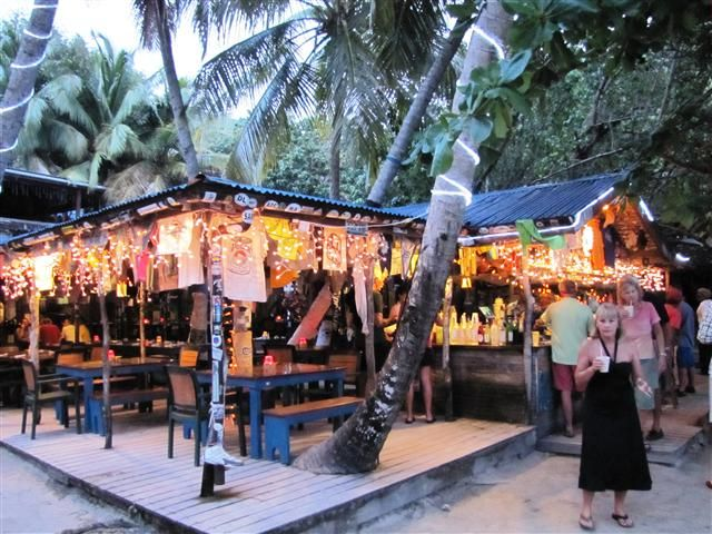 Favorite beach bar on earth-Foxy's!!! Jost van Dyke, BVI
