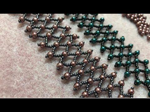 Perlenarmband mit Rocailles & Perlen – DIY Tutorial – YouTube