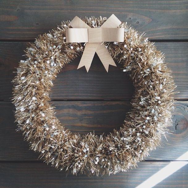 \\\ 5 Minute Tinsel Wreath \\\