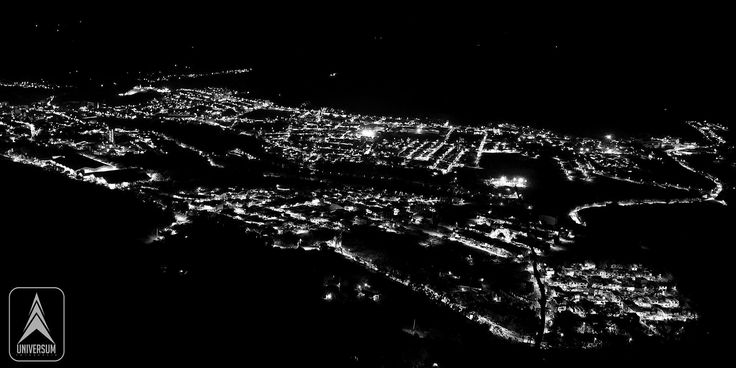 San Gil Santander Vista nocturna