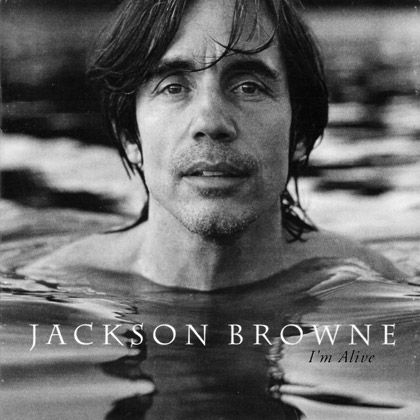 "Jackson Browne (""Well I'm a-running down the road trying to loosen my load / I've got seven women on my mind / Four that want to own me, two that want to stone me / One says she's a friend of mine / Take it easy, take it easy..."" - Take It Easy)"