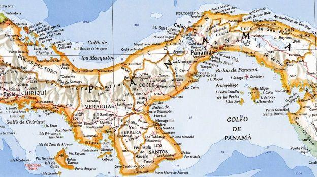 Google Image Result For Https Panamacodigopostal Com Wp Content Uploads 2018 08 Accidentes Costeros De Panama Jpg Panama Detailed Map Central America