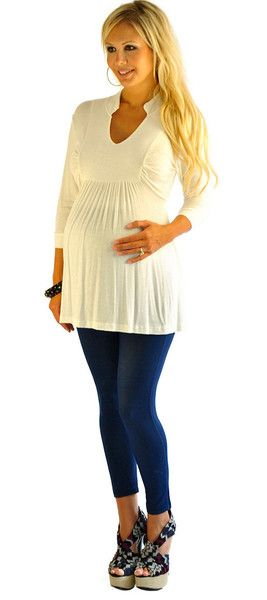 Stylish Maternity Clothes - minus high heels