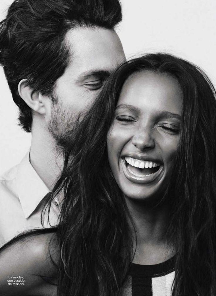 Tobias Sorensen & Jasmine Tookes Are a Model Couple for Glamour Spain