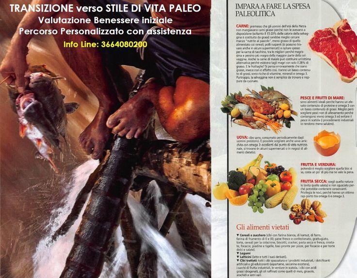 Transizione nelle scelte alimentari... Stile di Vita PALEO più il meglio della nutraceutica.