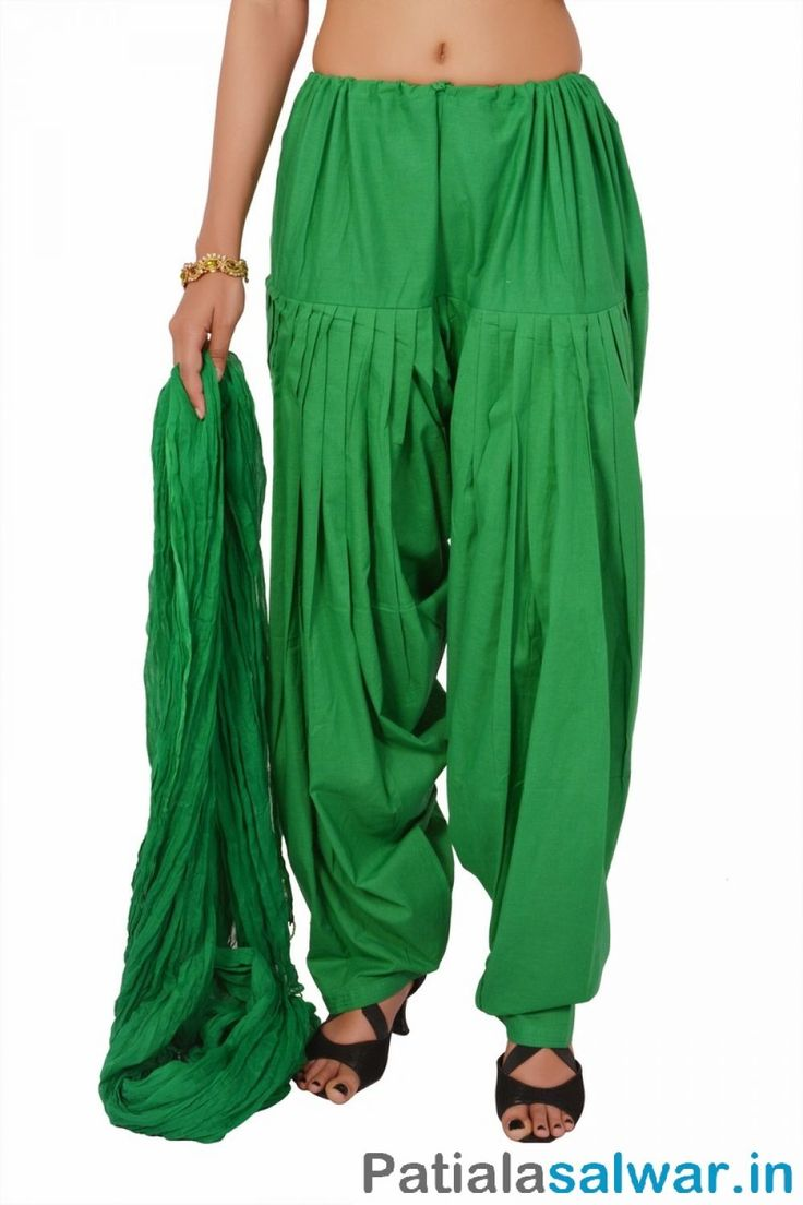 Chosse great collections and different colors for readymade Patiala Salwar include Green Patiala Salwar from the leading Indian Patiala Salwar Manufacturers and Exporters.