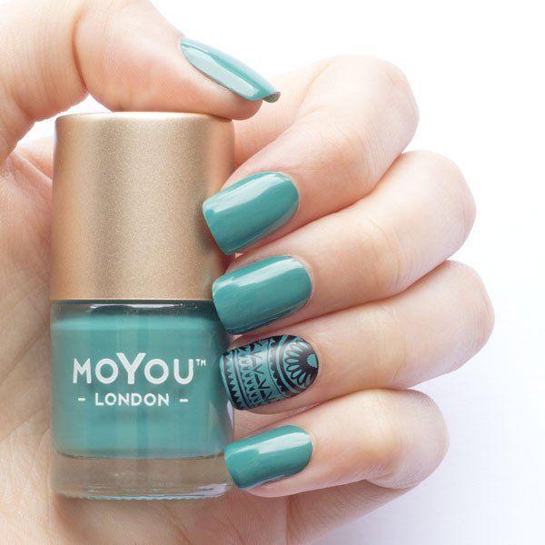 Stamping Nail Polish - Ever Green
