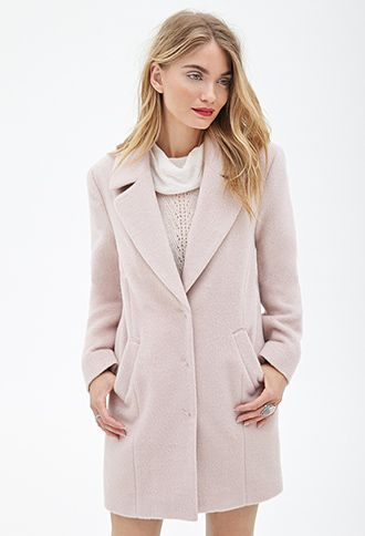 Classic Car Coat | Love21 - 2000058840