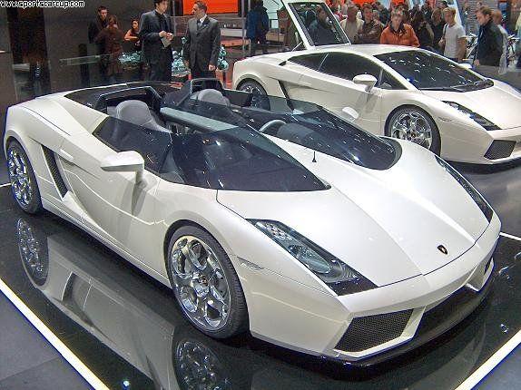 White Lamborghini Concept S.Please mom I promise to be a good boy !!!!