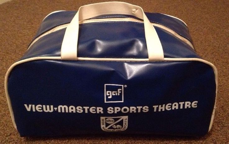 Vintage NBC Wide World of Sports Cosmetic Lunch Duffle Bag Vinyl | eBay