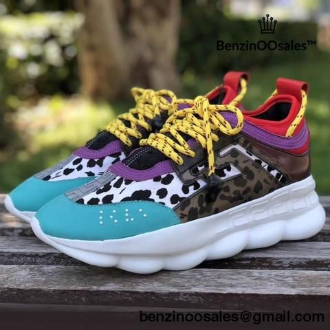 52858bc904e5b Replica Versace Chain Reaction Sneakers Made With 2 Chainz (Available In  Different Colorways)