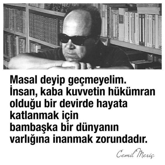 #cemilmeriç