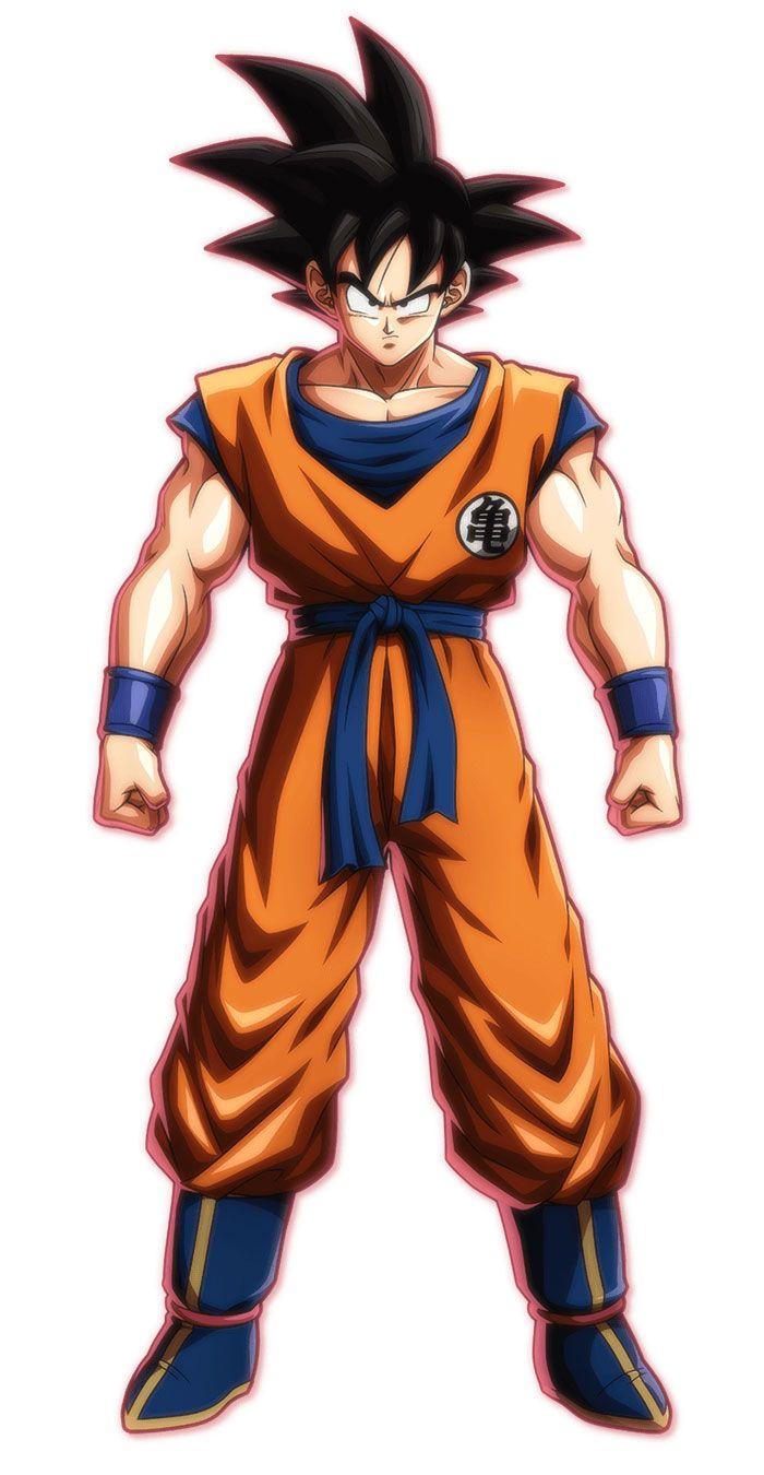 Base Goku From Dragon Ball Fighterz Art Illustration Artwork Gaming Videogames Gamer Dragon Ball Super Manga Dragon Ball Goku Anime Dragon Ball Super