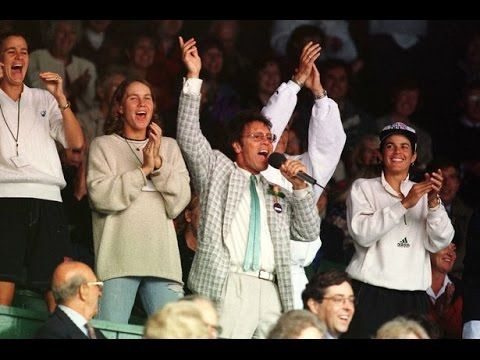 Cliff Richard - Entertains at Wimbledon Centre Court 1996