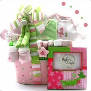 wishlisted_app#baby #bundle #giftideas for #newmums and #dads. #pink and #green look #toocute together. #sweet giftsforbaby #babyshower #newbaby #giftidea #wishlisted #love