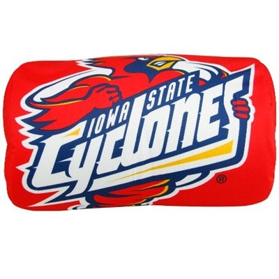 Iowa State Cyclones Red Microbead Travel Pillow-
