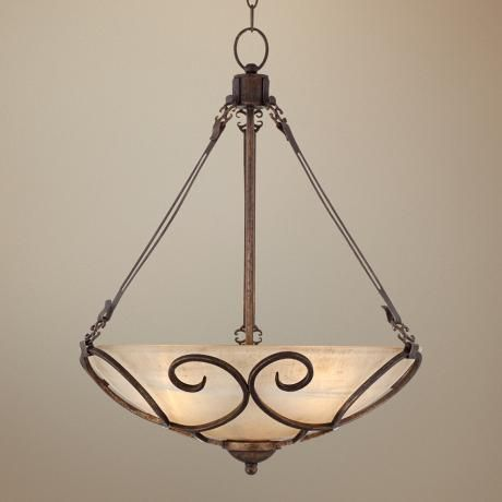 Kathy ireland italian treasure bowl pendant light from lamps plus summer sale for my dining area