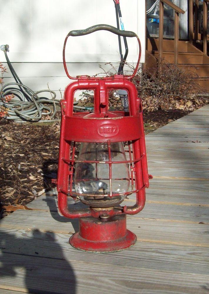 Vintage Dietz King Fire Dep't Lantern