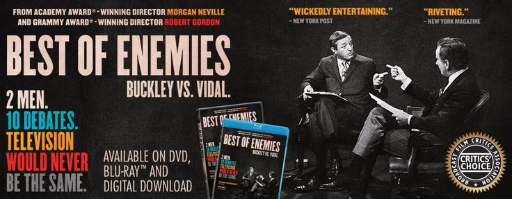 Best of Enemies (Official Movie Site) - Starring William F. Buckley Jr. and Gore Vidal - Available for Digital Download