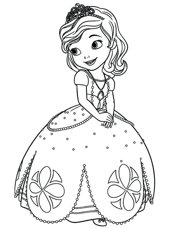 Princess Sofia Coloring Book Together With Princess Coloring Pages Beautiful Princess The First Colori Ausmalbilder Prinzessin Ausmalbilder Ausmalbilder Kinder