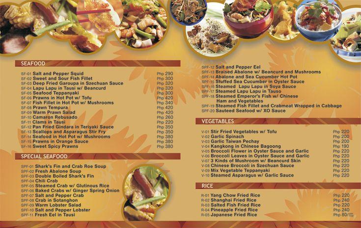 chine menu mock-up by roshipotoshi