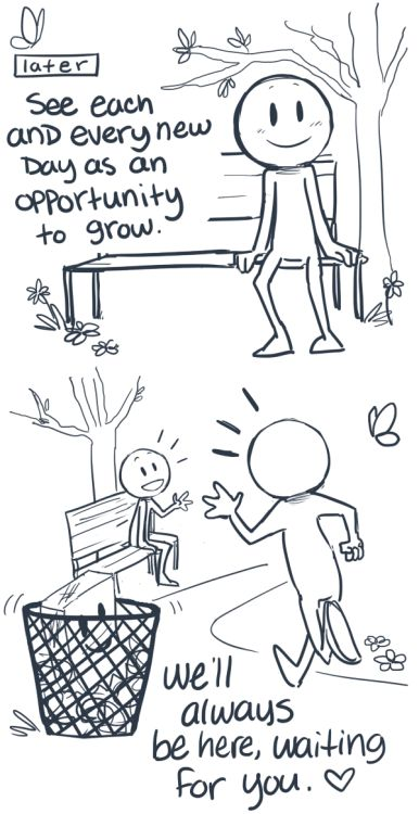 A Comic That Makes You View Depression From A Different Perspective