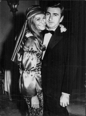 Nel 1954 con Umberto Marzotto