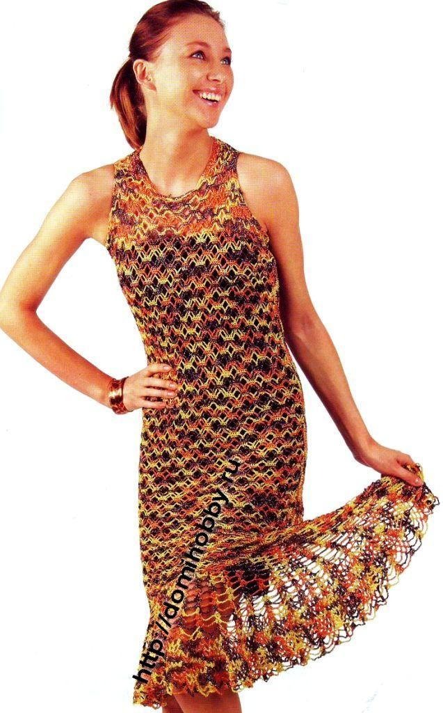 Summer Dress free crochet pattern
