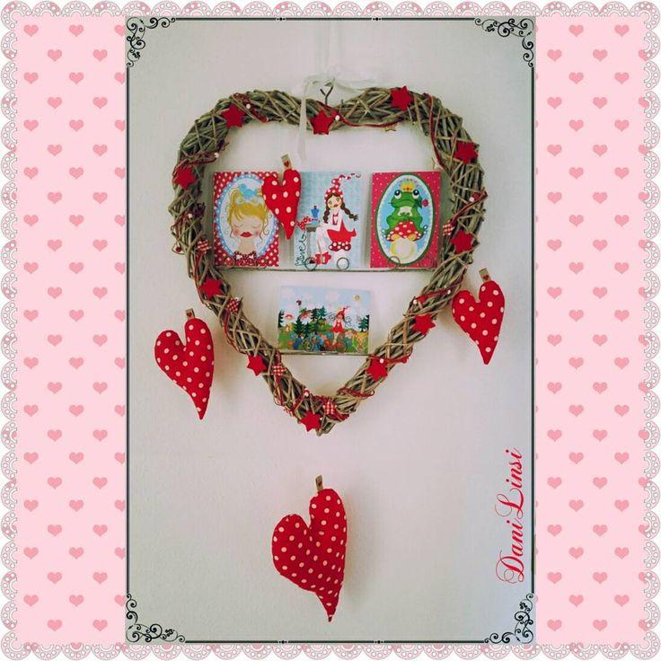 """""""Passend zum Valentinstag lässt Silke Herzchen regnen. #happyvalentinesday #stickenmachtspass #stickdatei #walterlinsi #zwergenschön #zwergenschönste…"""""""