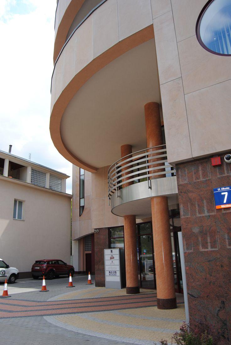 Centro per la Indikpol - Olkuska - Varsavia con l'architetto Kalina Eibl
