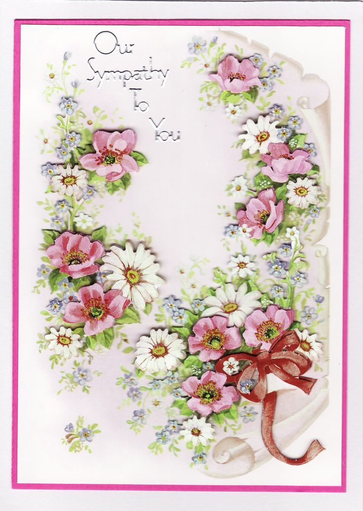 3D 'Our sympathy to You' Card (by Tassie Scrapangel)