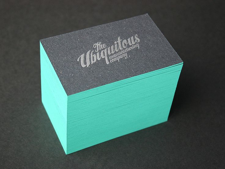 The unique colored edges feature is a great way to make your cards stand out.