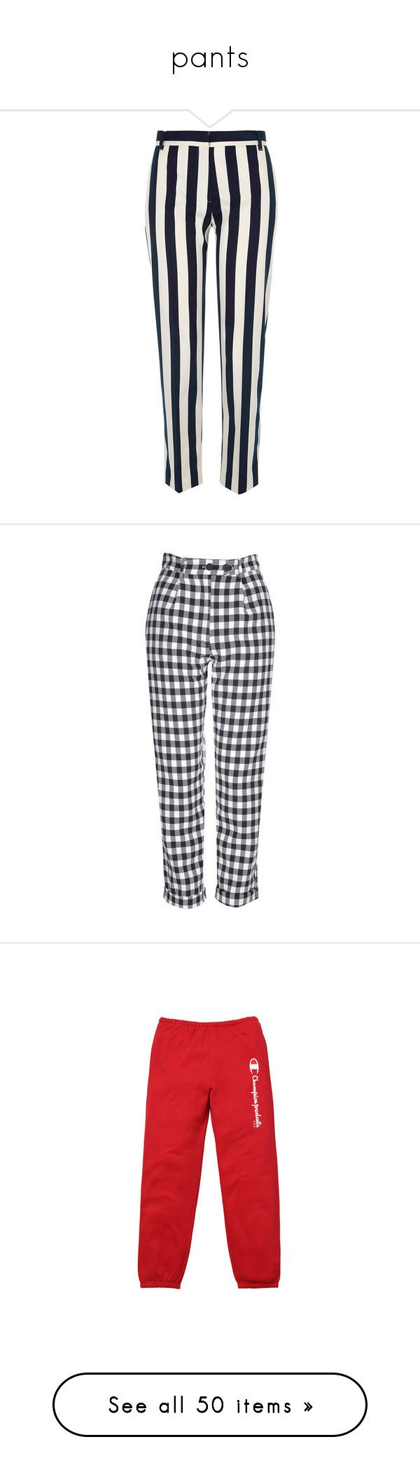 """""""pants"""" by brigi-bodoki ❤ liked on Polyvore featuring pants, capris, bottoms, trousers, black, cropped pants, women, woven pants, river island and tall pants"""